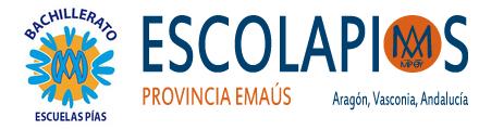 Bachillerato Escuelas Pías