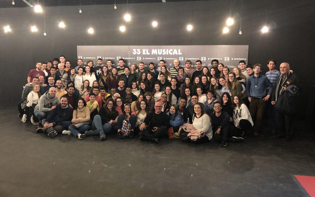 Movimiento Calasanz en «33 el Musical»