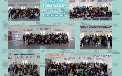 Jornadas de presentación de Nuestro Bachillerato