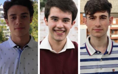 Tercera mejor nota en la EvaU de Aragón