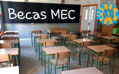 Prepárate para solicitar tu beca MEC