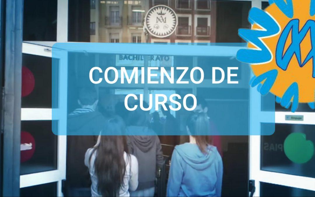 COMIENZO DE CURSO