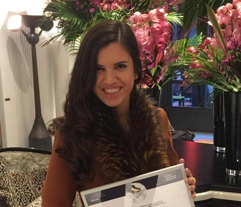 Nuestra exalumna Laura Canales gana los Premios Académicos AECOC