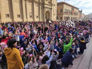 Celebración del día de la paz en Bachillerato