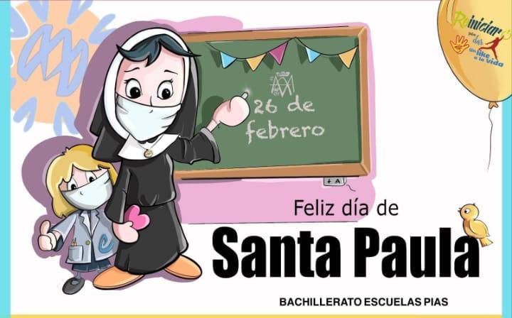 26 de febrero, Santa Paula Montal