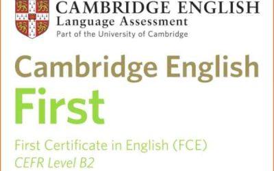 Preparación First Certificate 21-22 en el Bachillerato Escuelas Pías