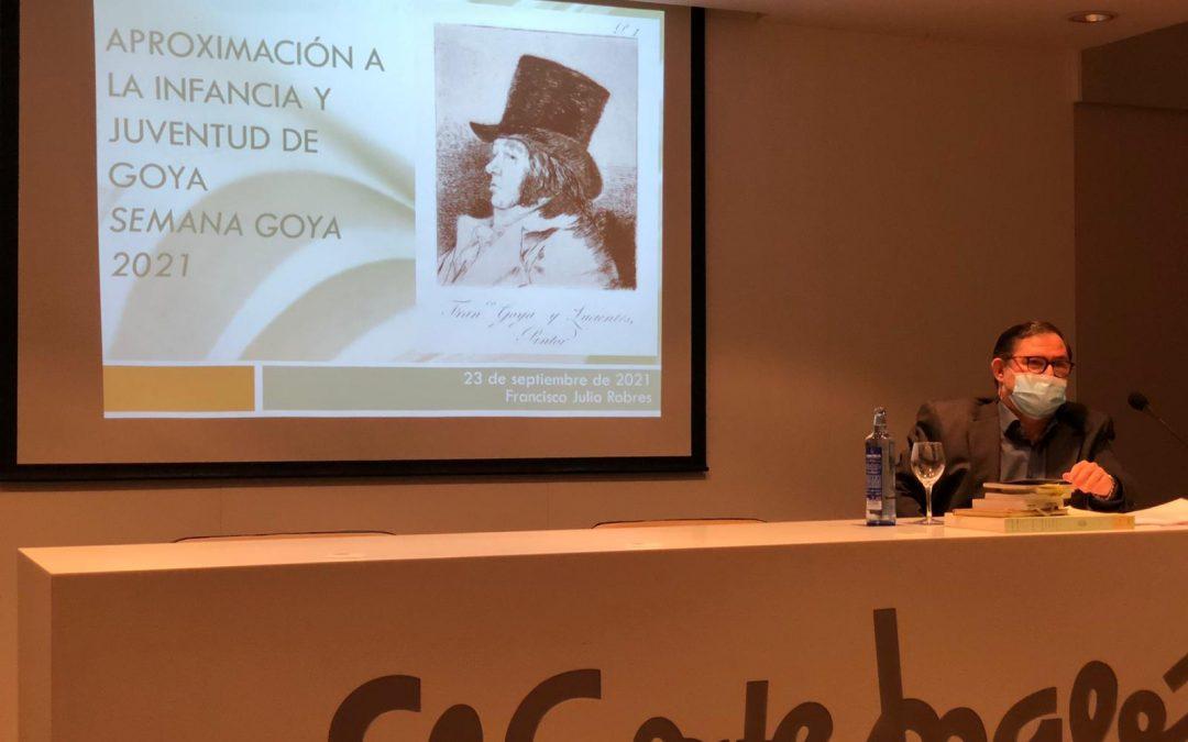 Crónica de la conferencia sobre Goya